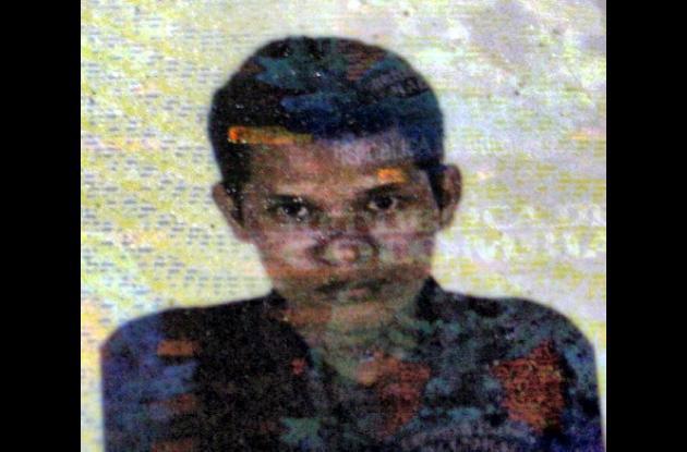 Wilmer Basilio Arroyo, murió luego de caerse de una motocicleta.