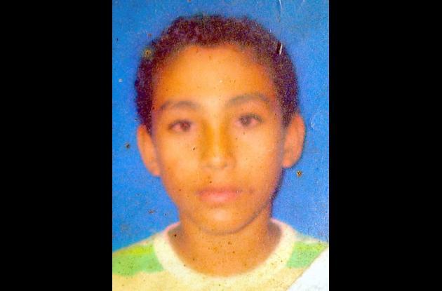 Carlos Alfredo Vitola Oliveros, joven asesinado.