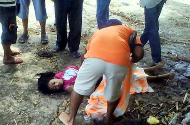 La joven fallecida lavaba una ropa en una represa