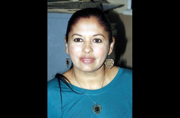 María Bernarda Olmos, propietaria de la vivienda.