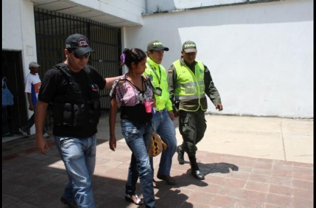 Yaneth María Martínez Morales, capturada