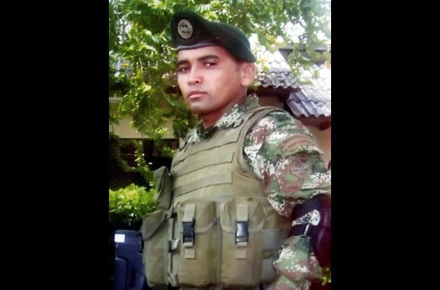 Neiber de Jesús Campo Pineda, soldado profesional muerto.