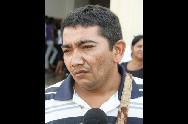 Rafael Pineda, familiar soldado.