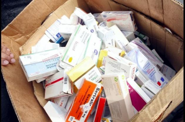 La medicina decomisada quedó en poder de las autoridades correspondientes.