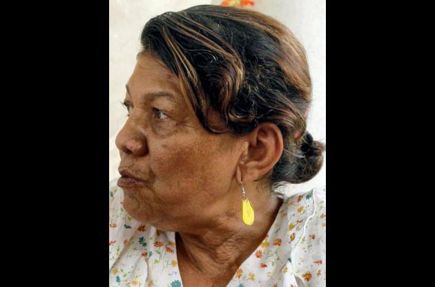 Libia Teresa Álvarez, supuesta agredida.