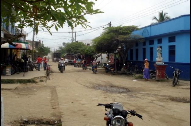 A la joven de 19 años, la ul-timaron a tres kilómetros del casco urbano del muni