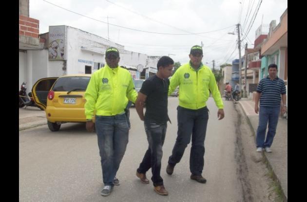 Roger Manuel Pacheco Ricardo, capturado por hurto.