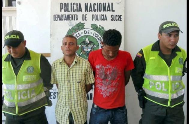 """Deimer Salgado Quiroz, alias """"El Mono"""" y Rafael Manchego Cali, capturados"""