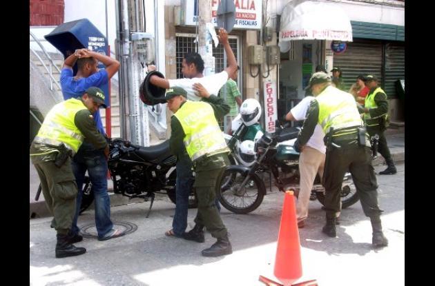 operativos contra el hurto de vehículos