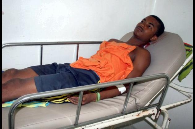 Juan Crespo Polo, joven macheteado en el municipio de San Onofre.