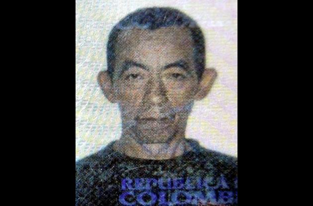 Robinson Díaz Contreras, comerciante asesinado.