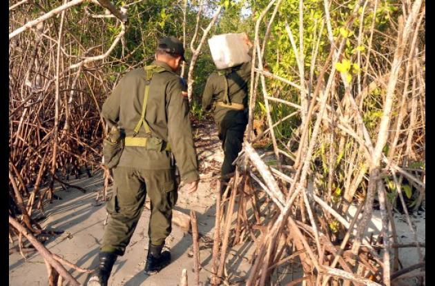incautados 25 kilos de cocaína en San Onofre