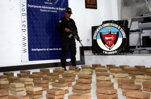 """La cocaína estaba distribuida en """"panelas"""" de un kilo"""