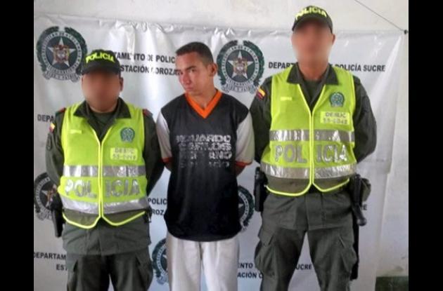 Francisco Antonio Gil Acevedo, capturado.
