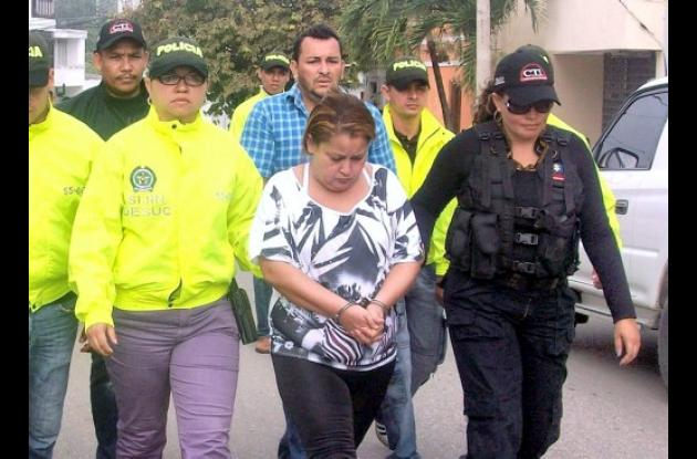 Madeleine Isabel Álvarez Velázquez y Nicanor Jesús Valest Verbel, capturados por