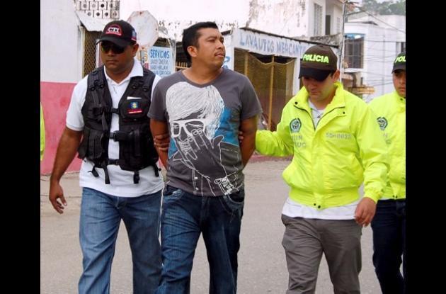 Harold Rafael Orozco Díaz, capturado por el homicidio de Angélica Cecilia Romero