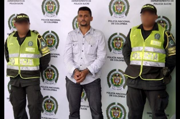 Eduardo José Trujillo Sánchez, capturado