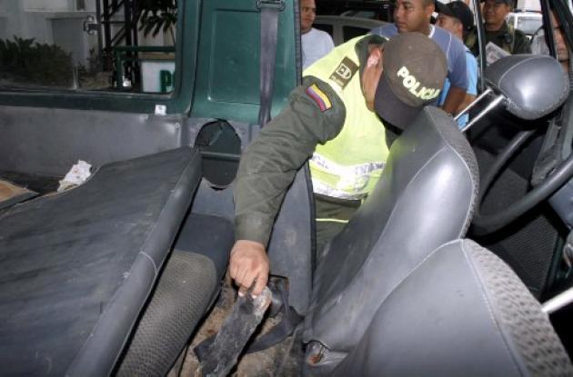 La droga tenía como destino la ciudad de Barranquilla.