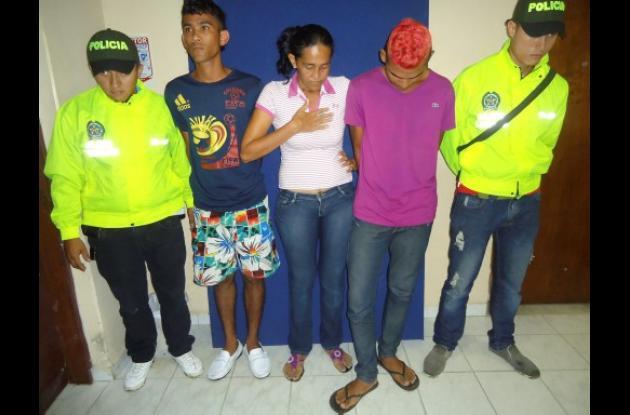Delincuentes capturados en Sincelejo