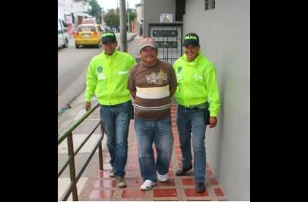 Mario José Salcedo Bernal, capturado por lotería ilegal