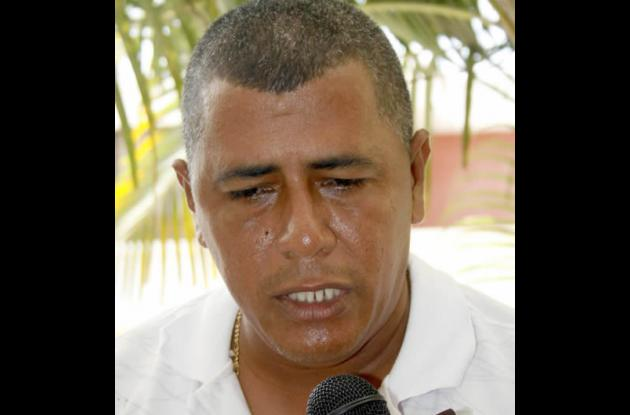 Miger Polo González, padre del estudiante lesionado.