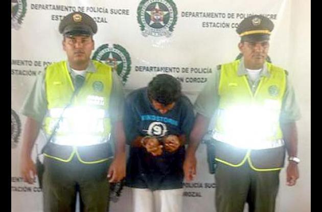 Carlos Enrique Acosta Pérez, capturado.