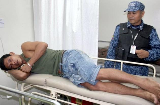 El preso Deivis Maldonado Gil intentó suicidarse
