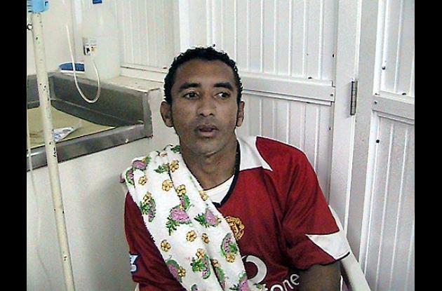 Fredy Arrieta Guevara, baleado en Sincelejo