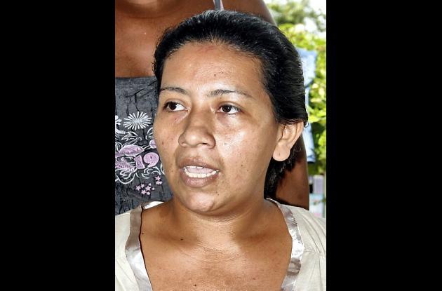 Ana Milena Martínez Urango, esposa.
