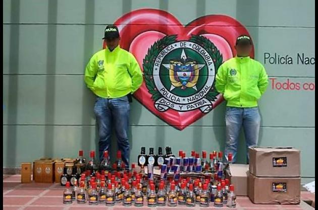 El licor quedó a disposición de la Oficina de Rentas Departamentales de Sucre