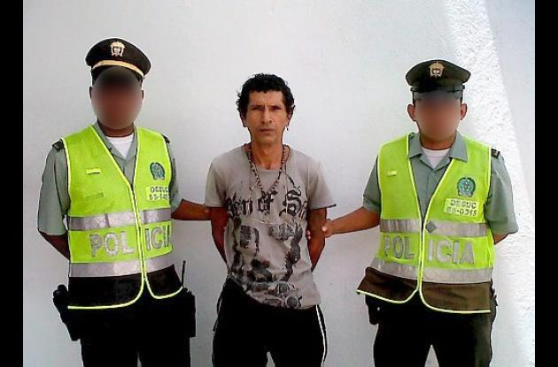 Federman José Manjarrez Rojas, capturado con alucinógenos.