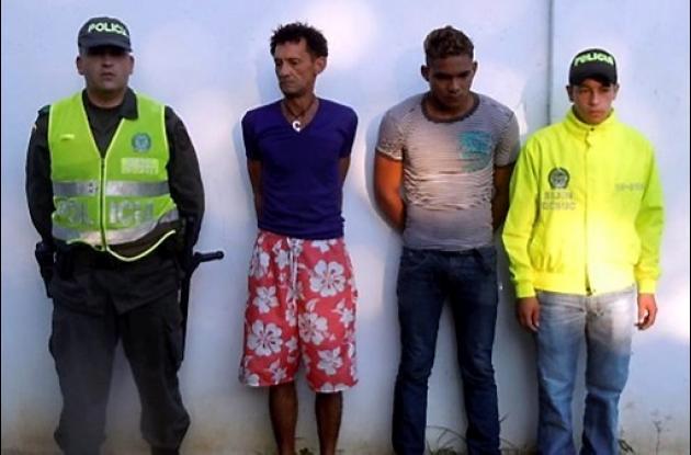 Francisco Payares Tovar y Álvaro Castilla Herazo, cayeron en allanamiento