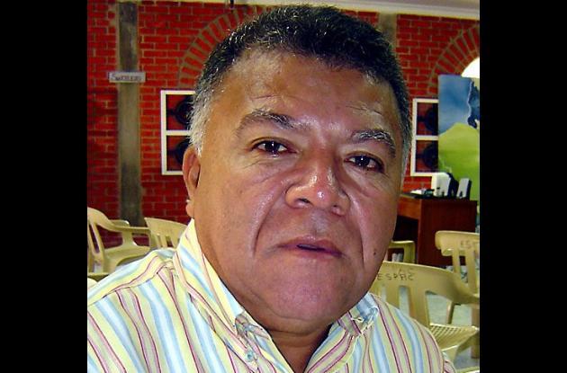 Ángel Iván Contreras Nieto, alcalde de La Unión.