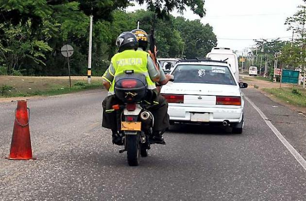 Baleados dos presuntos ladrones de moto en Sucre