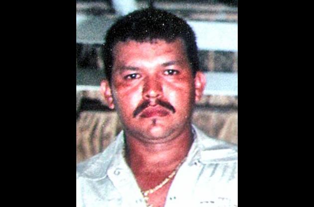 Alberto Antonio Díaz, asesinado.