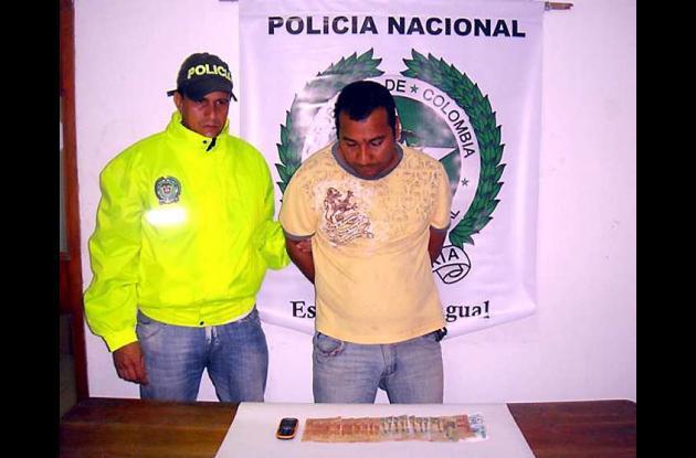 Policía captura a presunto extorsionista en Majagual, Sucre