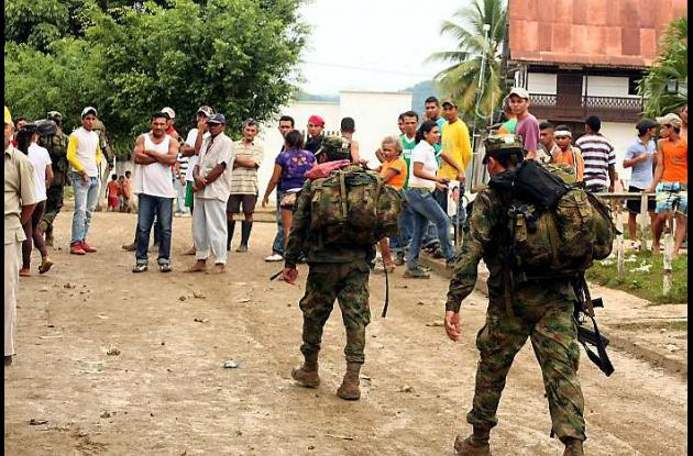 La comunidad de Colosó vive un tenso ambiente desde la noche del domingo