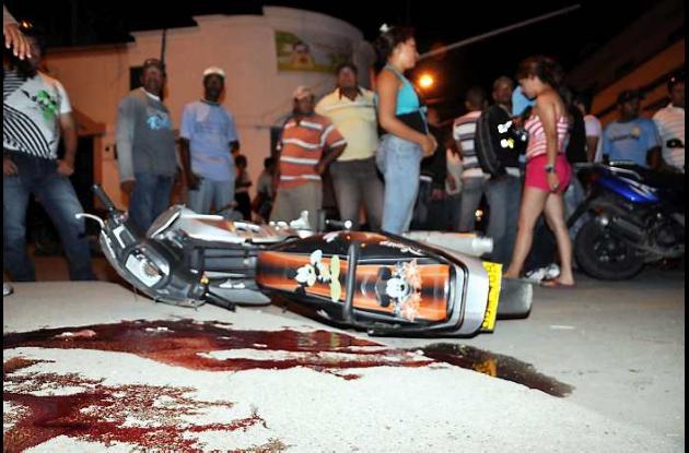 Ezequiel Vergara Romero cayó de su motocicleta y se estrelló contra el pavimento