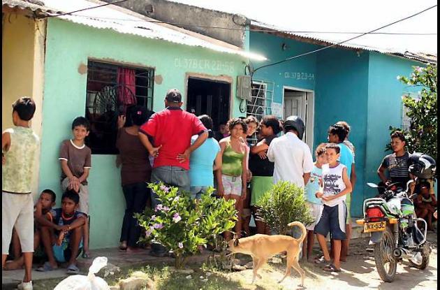 La muerte del niño alertó a toda la comunidad del barrio Nuevo Bolívar