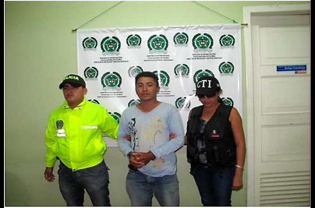 Faber Rafael Herazo Márquez, capturado por violación.