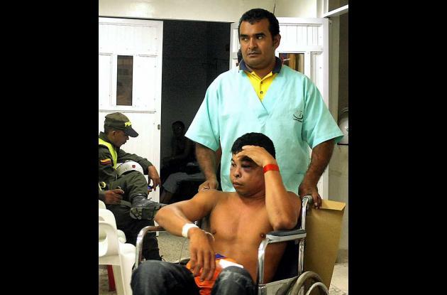 Guillermo Romero Garay sufrió golpes en la cabeza y otras partes del cuerpo.