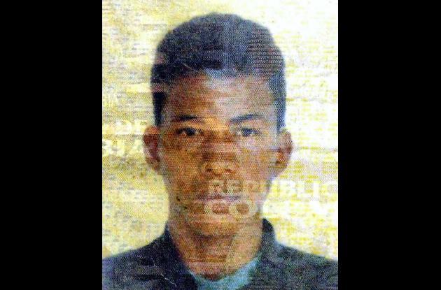 Wilberto Ruiz Salazar, fallecido.