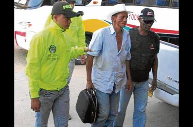 Miguel Ángel Duque Sánchez, capturado en la vereda Las Bocas