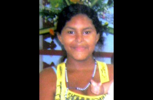 Karen Pineda Arrieta, fallecida.