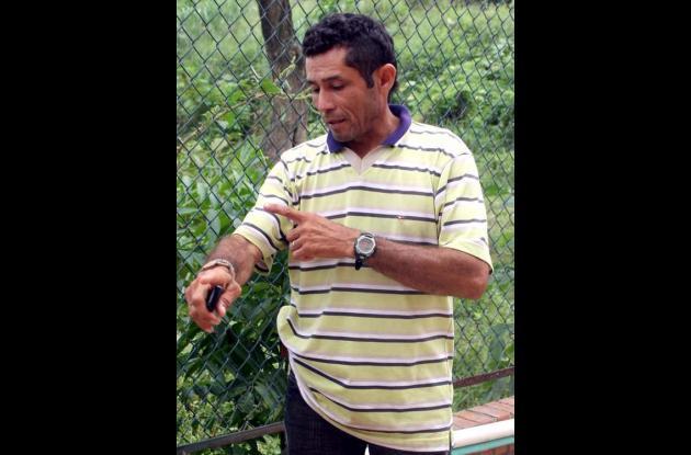 Marco Antonio Pineda, reclamó el cuerpo de la menor en Medicina Legal