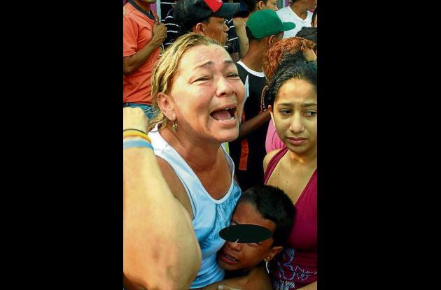 La madre e hijo del civil lesionado