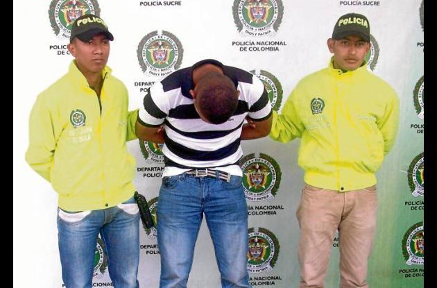 Miller Alexander Urango Sierra, capturado sindicado de hurto.