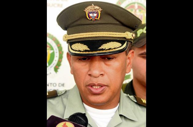 Coronel Orlando Polo Obispo, Comandante Policía en Sucre.