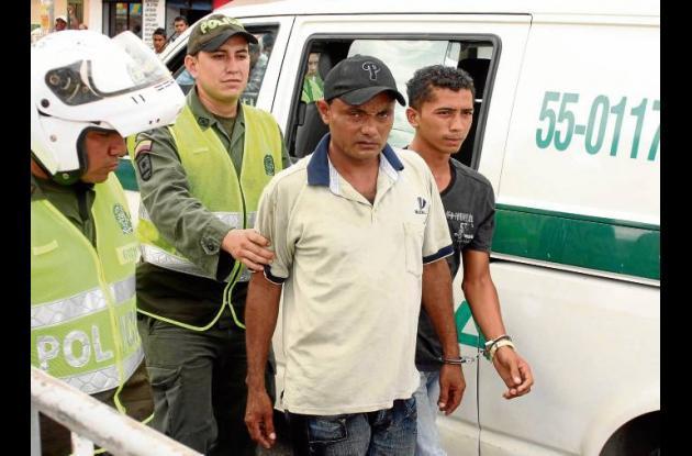 presuntos ladrones fueron sorprendidos en la A. Luis Carlos Galán de Sincelejo