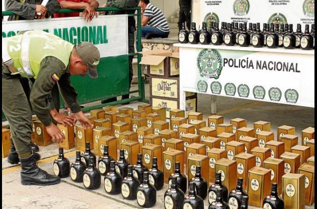 El licor es genuino cumple con los requisitos, pero es de contrabando
